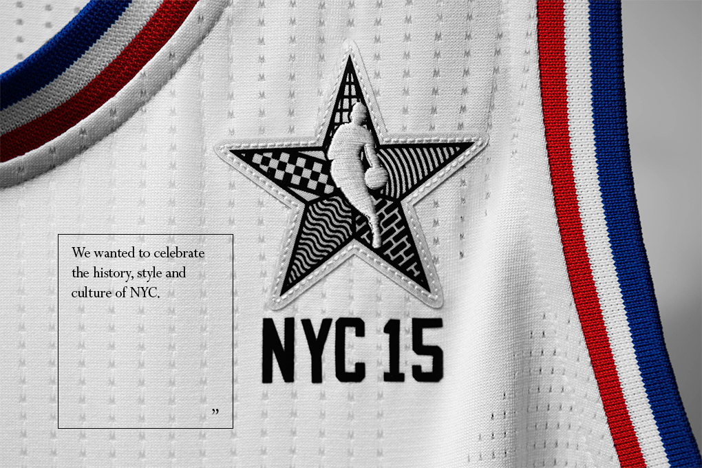Interview Christopher Arena NBA David Cho adidas 2015 All-Star uniform designs 02