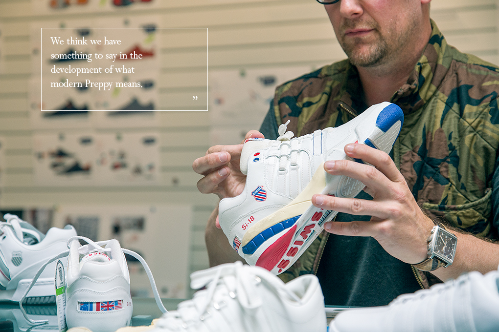 Interview Eric Sarin K-Swiss talks Si-18 International OG The Daily Street 03