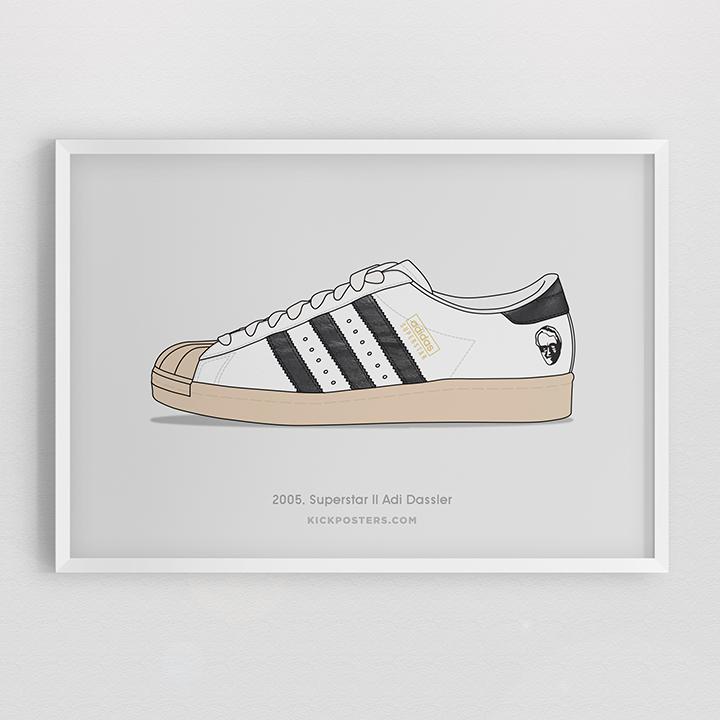 Kick Posters adidas Superstar 35th Consortium series Adi-Dassler