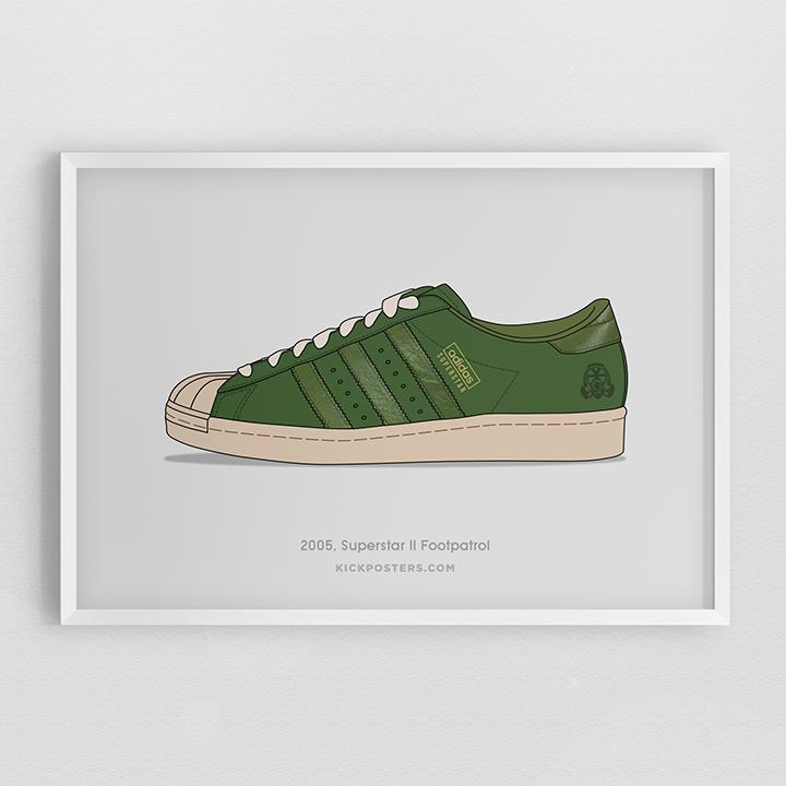 Kick Posters adidas Superstar 35th Consortium series Footpatrol
