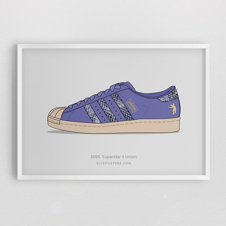 Kick Posters adidas Superstar 35th Consortium series Union