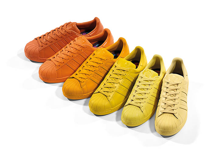 Pharrell Williams X Adidas Superstar Supercolour Confezione Originale