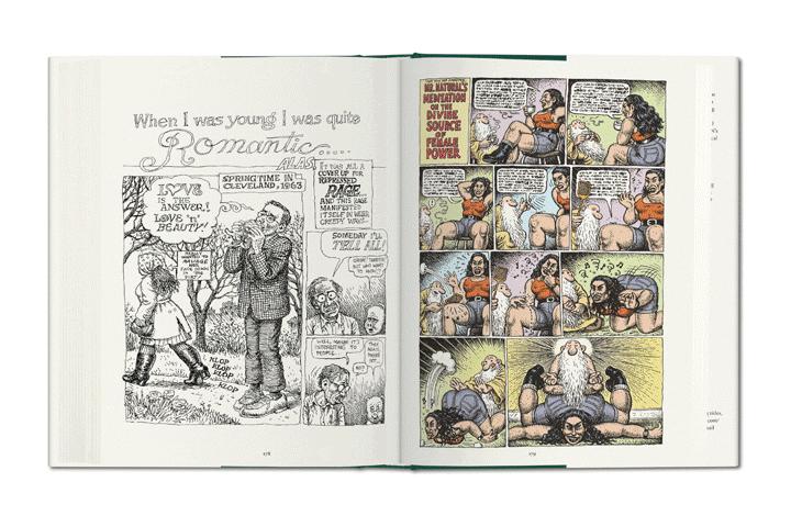 Robert Crumb Sex Obsessions book TASCHEN 02