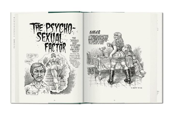 Robert Crumb Sex Obsessions book TASCHEN 04