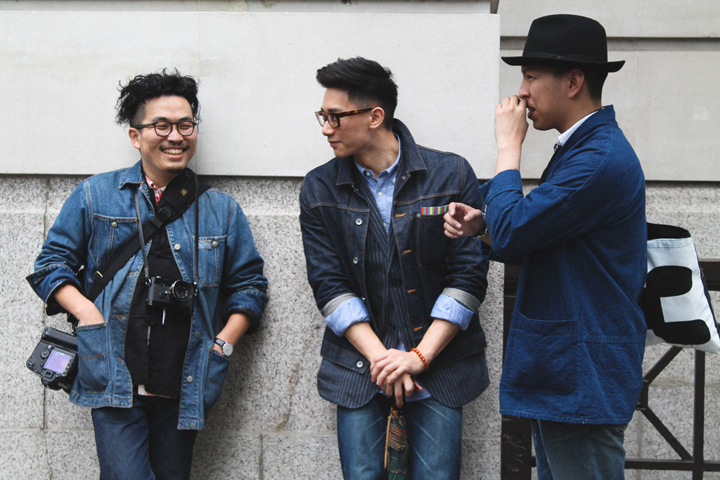 LCM SS16 Overview Denim Outfits