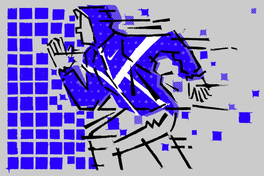 Nike Tech Hyperfuse Windrunner illustrations by Ryan Gillett for The Daily Street 01