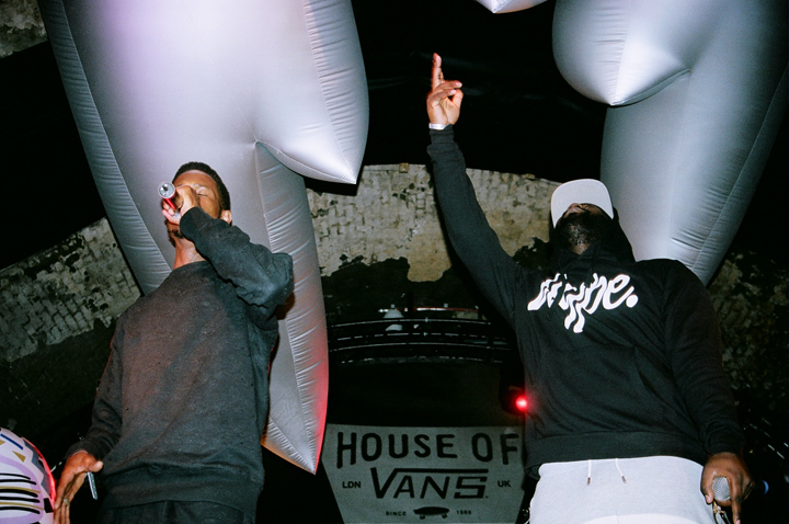 Recap JME D Double E Logan Sama Flowdan The Square House of Vans London 16