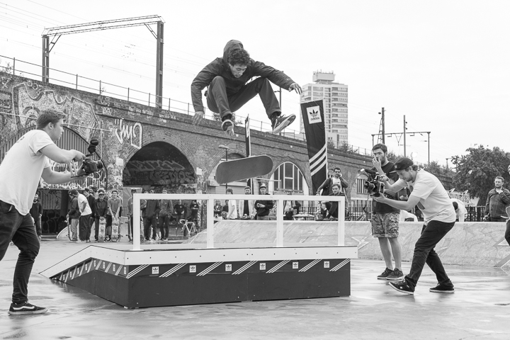 Recap adidas Skateboarding BOOST THE BAR Mile End London-6