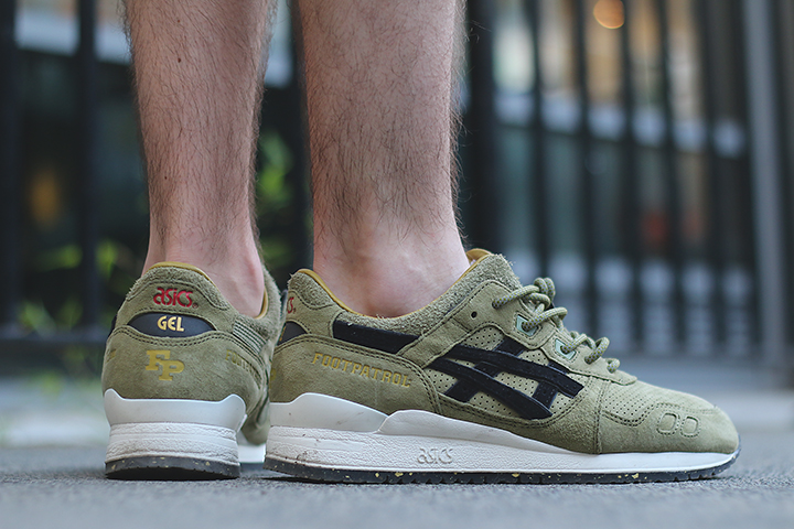 Footpatrol ASICS GEL Lyte III Squad by THE DAILY STREET 07