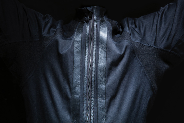 Y-3 Virgin Galactic spaceport america flight suit detail