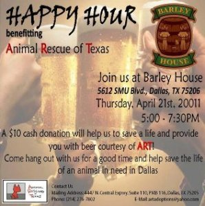 Happy Hour Benefiting Animal Rescue of Texas