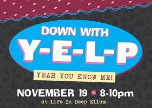 November YELP Event