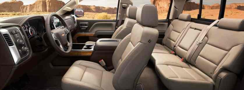 2014 Chevy Silverado 1500 Interior