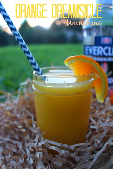 Orange Dreamsicle Moonshine recipe