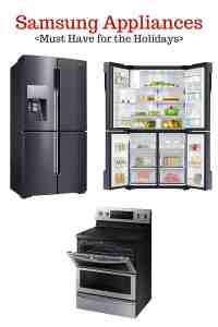 Must Have Samsung Appliances for the Holidays