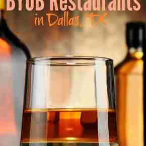 BYOB Restaurants in Dallas