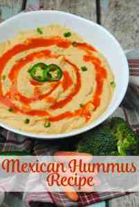 Easy Mexican Hummus Recipe