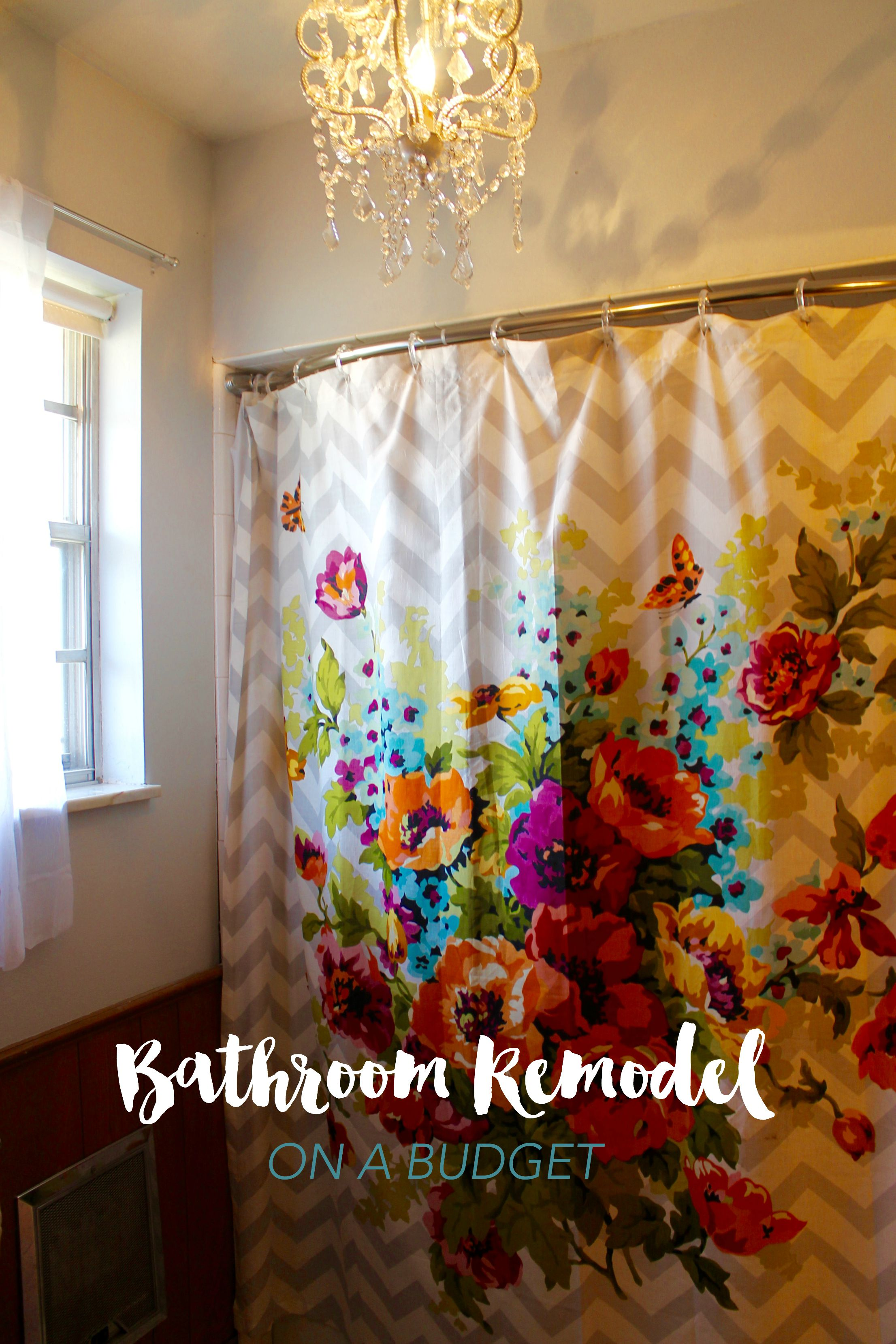 Bathroom remodel on a budget - How to redo a bathroom on a budget ...