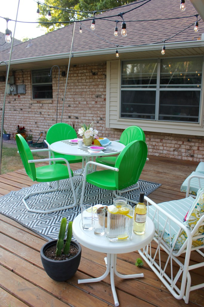 colorful back patio 6