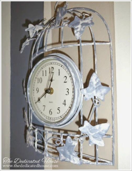 Repainted Kitchen Clock