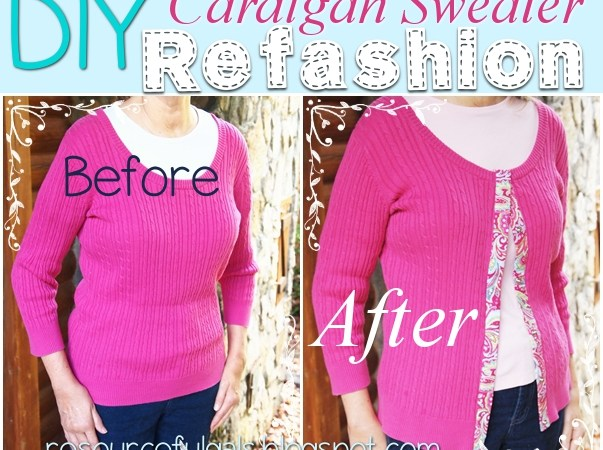 Cardigan-refashion