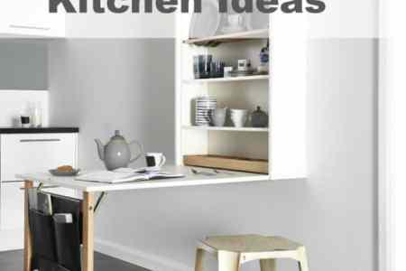 small kitchen space saving ideas