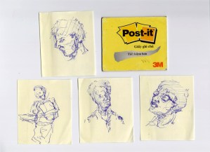 Doodling on Post-it