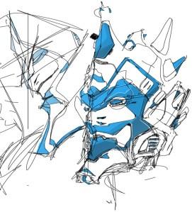 robotsamuraitheDesignsketchbookbluemask.jpg