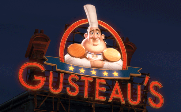 Ratatouille Chef Gusteaus