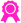 Medaille pink