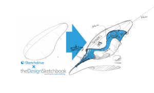 sketchdrive x thedesignsketchbook - feat