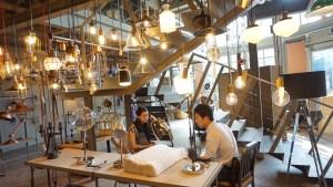 Lighting cafe Bangkok drink