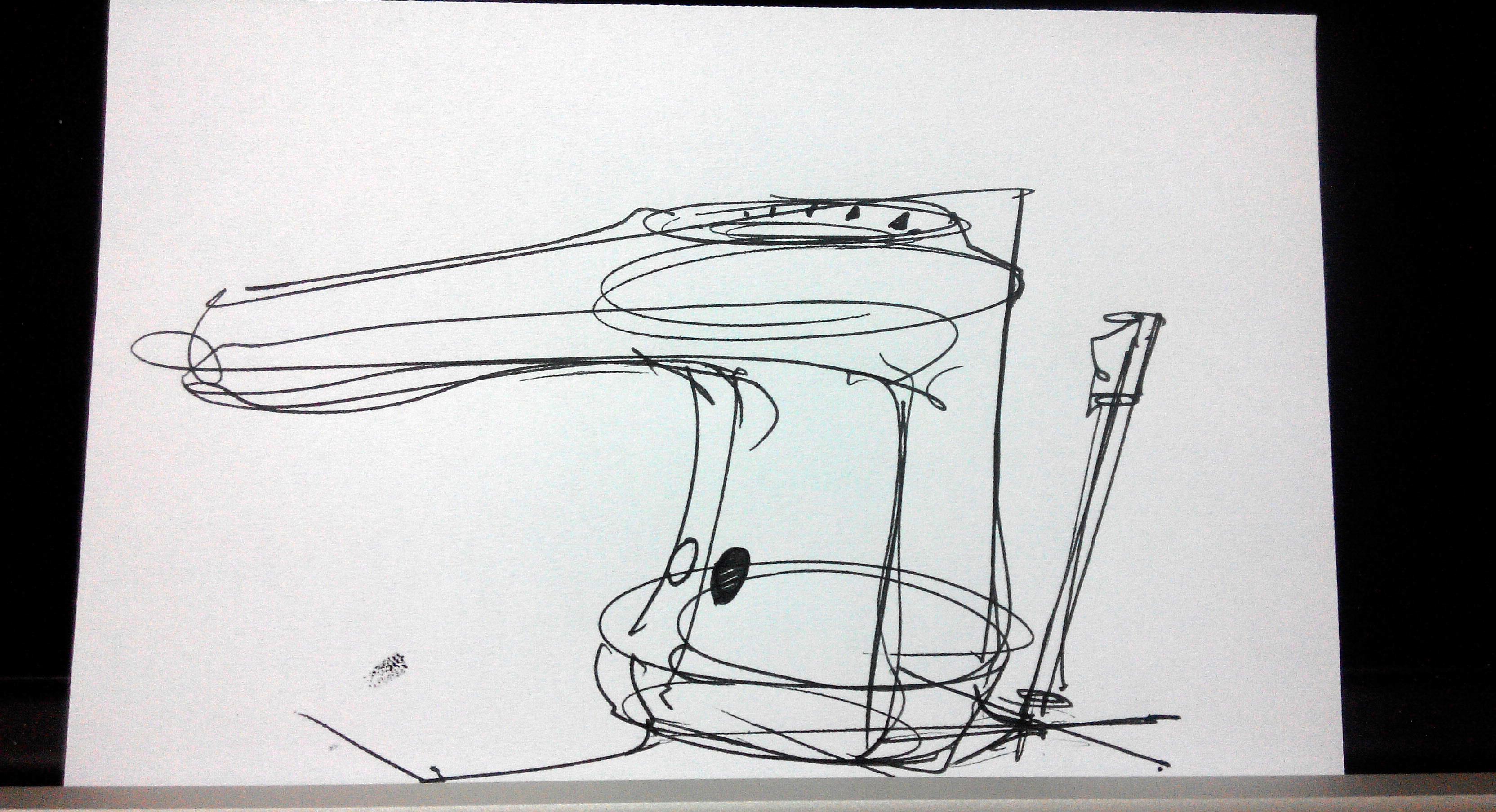 1 minute challenge design sketching the design sketchbook b