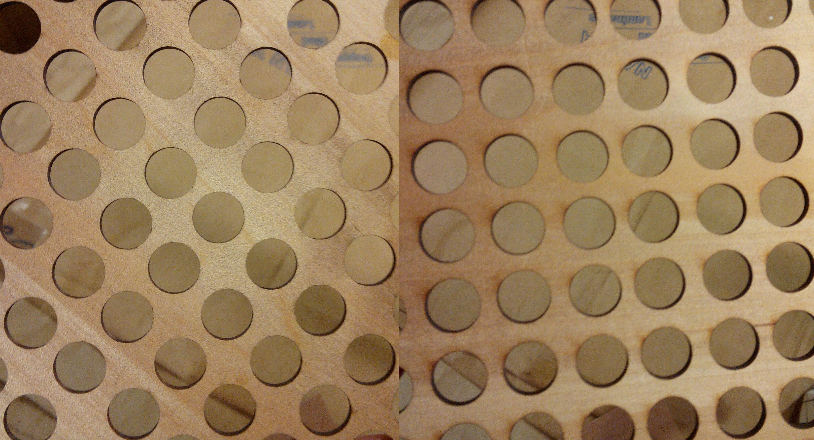 Laser cut wood - the design sketchbook
