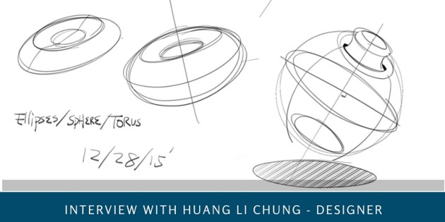 Majored in Civil engineering but in love with Design - Interview with Huang Li-Chung, 47yo - The design sketchbook - product and industrial design sketching tutorials