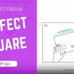 How to draw perfect square + the common mistakes | TIP 151 | VIDEO