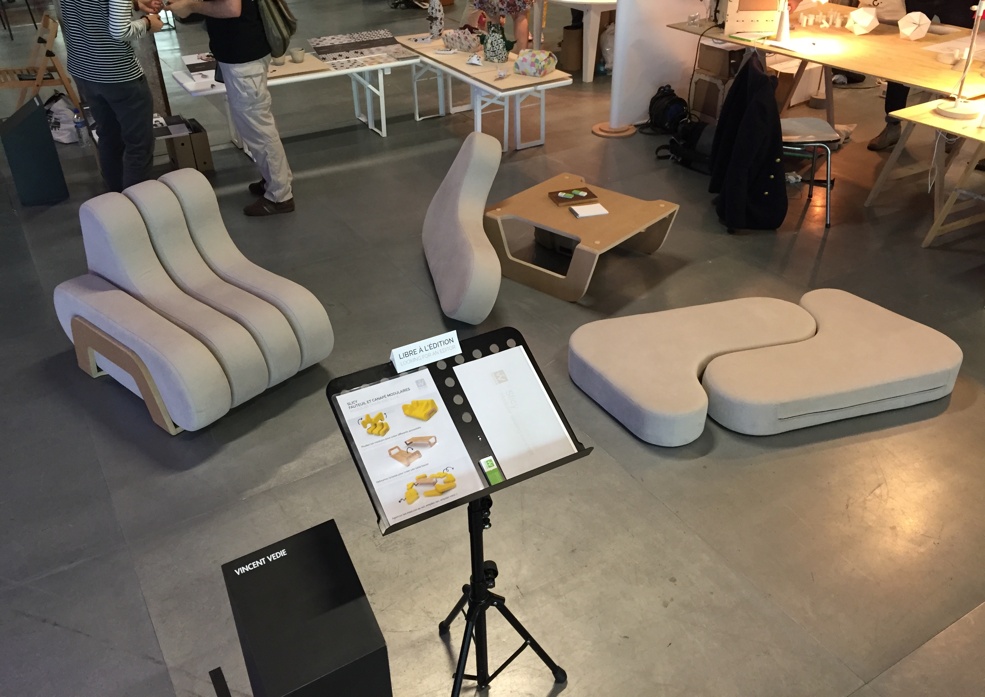 Vincent Vedie Product designer Modular furniture design Maison et objets Paris Prototype.JPG