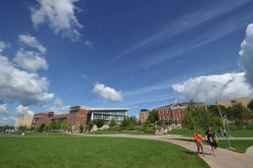 The University of Akron campus