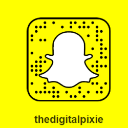 The Digital Pixie on Snapchat