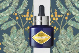 L'Occitane Immortelle Precious Cream and Serum beauty blogger milan