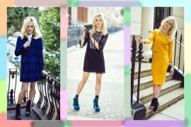Fearne Cotton Very fall winter collection dresses