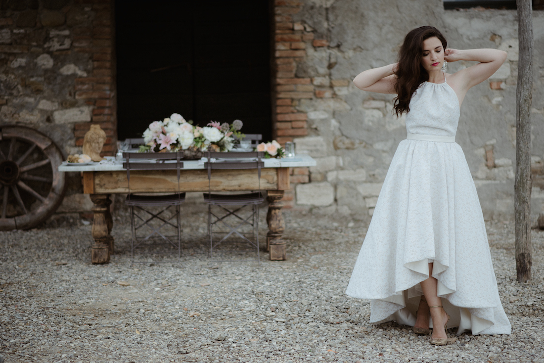Fashion Blogger Wedding Tuscany Anja Tufina
