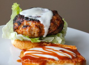BBQ Chicken Ranch Burgers