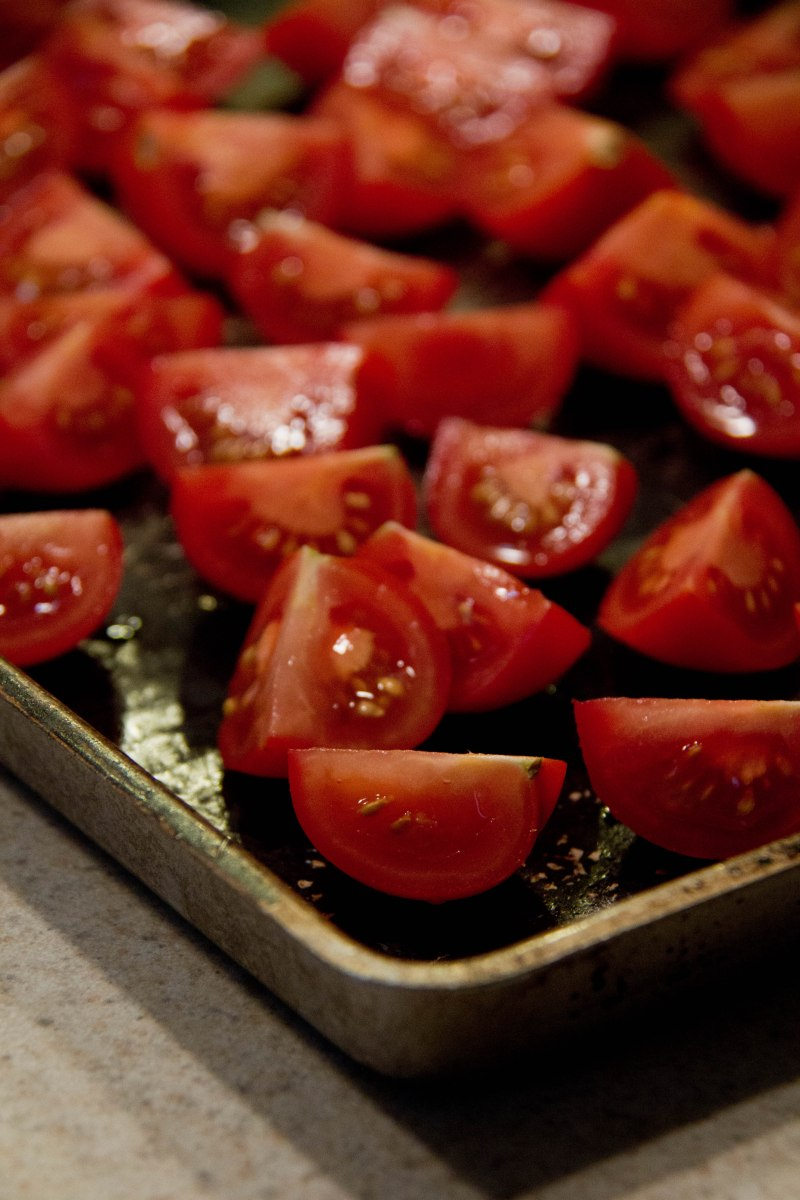 Roasted Tomatoes - Two Ways