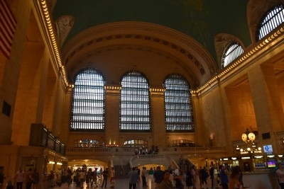 Grand Central Terminal was built in 1903 (photo by David).