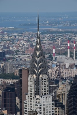 Close-up of the Chrysler Building (photo by David).