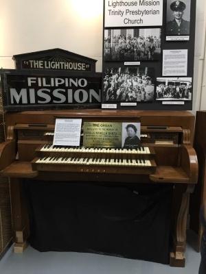 Letty Perez's grandmother's organ.