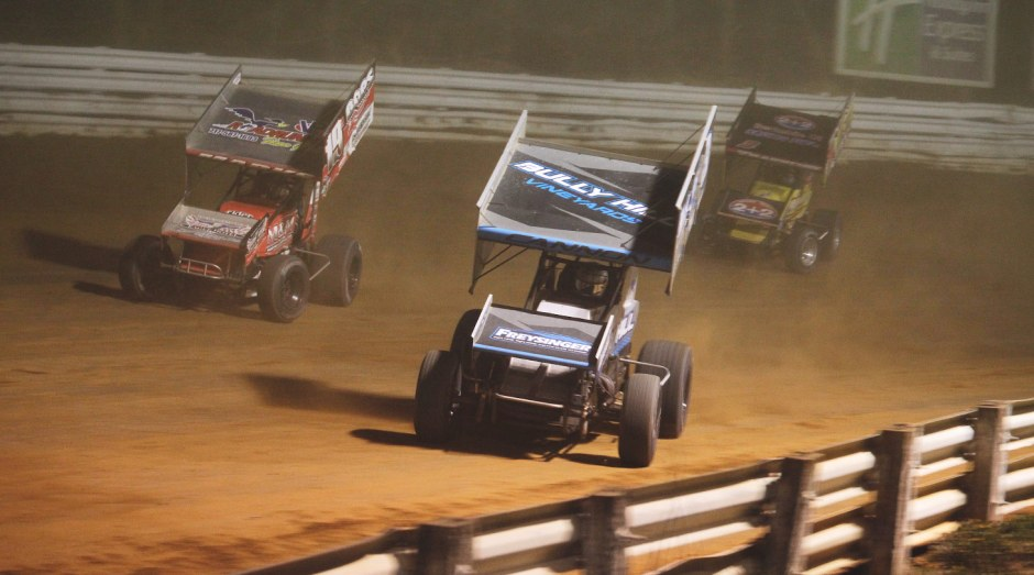 Pat Cannon, Brent Marks and Brock Zearfoss are all looking for their first career World of Outlaws feature wins