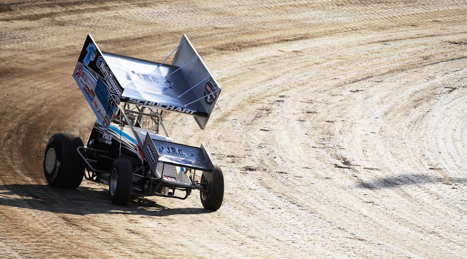 1s; Logan Schuchart qualifying at The 2016 Kings Royal at Eldora Speedway