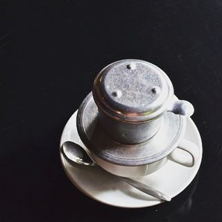 A Vietnamese coffee to brighten a dreary rainy season afternoonhellip